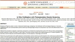 New England Journal of Medicine - In Vitro Fertilization with Preimplantation Genetic Screning