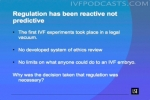 Regulation has been reactive not predictive